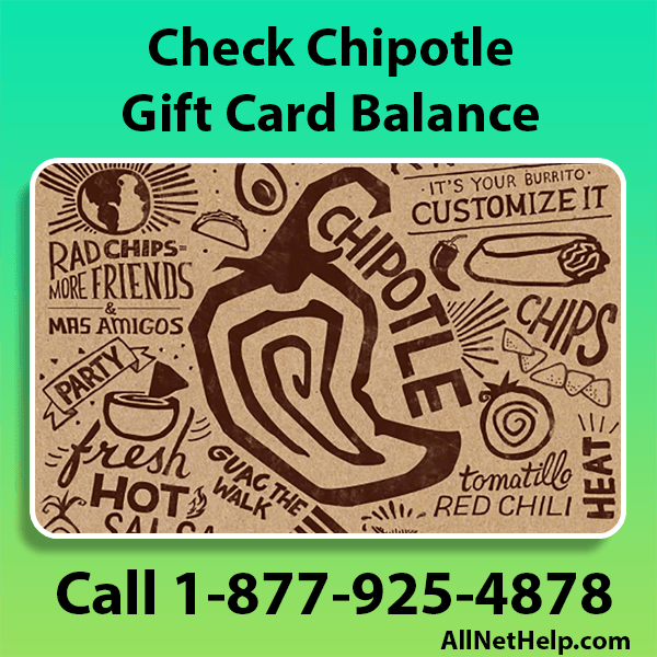 Read more about the article How to Check Chipotle Gift Card Balance Online USA 2021