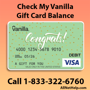 Read more about the article Check my vanilla card balance Online Phone number USA 2021