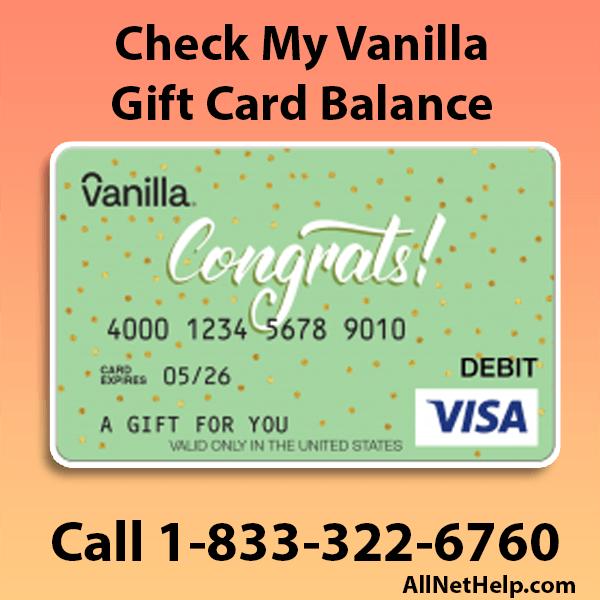 check-my-vanilla-gift-card-balance