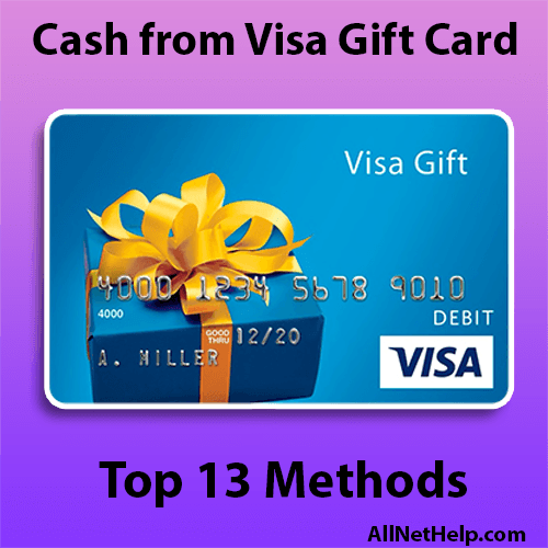 Read more about the article How to get Cash from a Visa gift card Paypal Venmo USA 2021