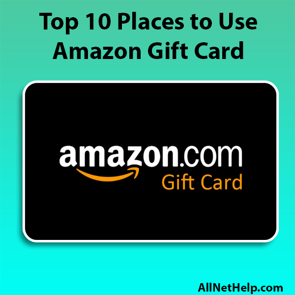 Read more about the article Where can i use Amazon Gift Card besides Amazon USA 2021